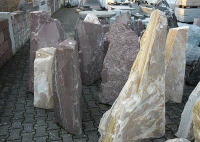 Findlinge Gestaltungssteine Natursteine Eckert Frankenhardt Gartengestalltung Schwäbisch Hall Crailsheim Gaildorf Ellwangen
