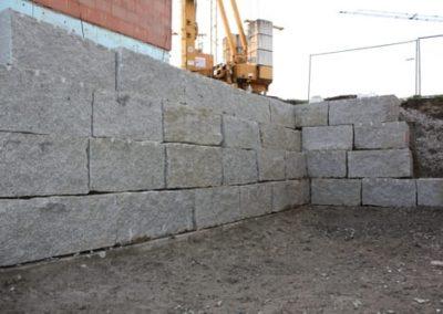 Trockenmauersteine Gartenmauer Quadersteine Böschungssteine Blöcke Granit Natursteine Eckert Frankenhardt Gartengestalltung Schwäbisch Hall Crailsheim Gaildorf Ellwangen