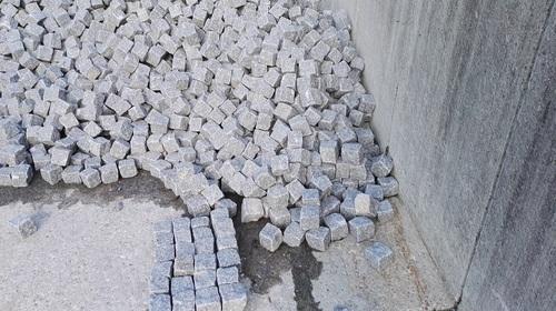 Pflaster Pflastersteine Kleinpflaster Gartensteine Granit Roriz grau-blau Natursteine Eckert Frankenhardt Gartengestalltung Schwäbisch Hall Crailsheim Gaildorf Ellwangen