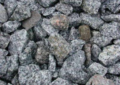 Steinbeet Granit Splitt Odenwald 16-32
