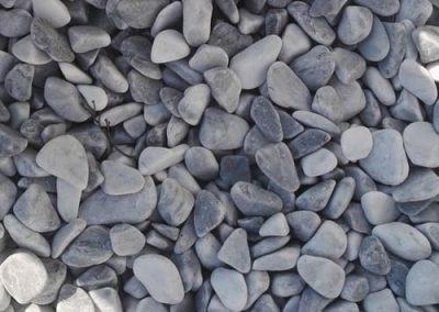 Steinbeet Marmorkies Taubenblau 25/40 mm Eckert Natursteine