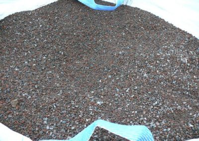Steinbeet Lava Splitt 2-8 mm Eckert Natursteine