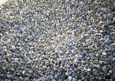 Steinbeet Moränesplitt 8-11 mm Eckert Natursteine
