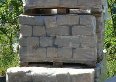 Trockenmauersteine Gartenmauer Böschungssteine Quadersteine Muschelkalk Natursteine Eckert Frankenhardt Gartengestalltung Schwäbisch Hall Crailsheim Gaildorf Ellwangen