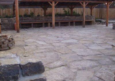 Bodenplatten Polygonalplatten Terrassenplatten Gartenplatten Muschelkalk Natursteine Eckert Frankenhardt Gartengestalltung Schwäbisch Hall Crailsheim Gaildorf Ellwangen