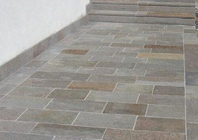 Bodenbeläge Bodenplatten Terrasenplatten Treppe Gartenplatte Stufenplatten Porphyr Natursteine Eckert Frankenhardt Gartengestalltung Schwäbisch Hall Crailsheim Gaildorf Ellwangen