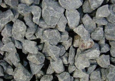 Steinbeet Basaltschotter 32/56 mm Eckert Natursteine