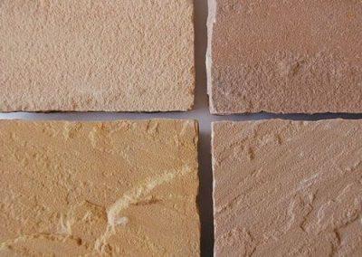 Bodenbeläge Terrassenplatten Bodenplatten Gartenplatten Sandstein rötlich Natursteine Eckert Frankenhardt Gartengestalltung Schwäbisch Hall Crailsheim Gaildorf Ellwangen